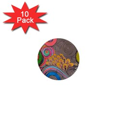 Rainbow Passion 1  Mini Buttons (10 Pack)  by SugaPlumsEmporium