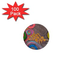 Rainbow Passion 1  Mini Buttons (100 Pack)  by SugaPlumsEmporium