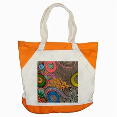 Rainbow Passion Accent Tote Bag by SugaPlumsEmporium