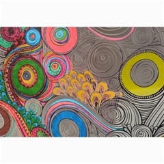 Rainbow Passion Canvas 12  X 18   by SugaPlumsEmporium