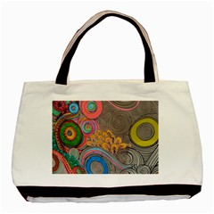 Rainbow Passion Basic Tote Bag (Two Sides) by SugaPlumsEmporium
