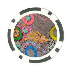 Rainbow Passion Poker Chip Card Guards (10 pack)  by SugaPlumsEmporium
