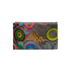 Rainbow Passion Cosmetic Bag (small)  by SugaPlumsEmporium