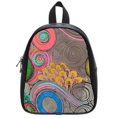 Rainbow Passion School Bags (small)  by SugaPlumsEmporium