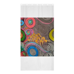 Rainbow Passion Shower Curtain 36  X 72  (stall)  by SugaPlumsEmporium