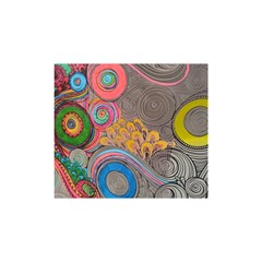 Rainbow Passion Shower Curtain 48  X 72  (small)  by SugaPlumsEmporium