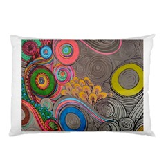 Rainbow Passion Pillow Case (two Sides) by SugaPlumsEmporium