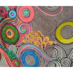 Rainbow Passion Deluxe Canvas 14  x 11  14  x 11  x 1.5  Stretched Canvas