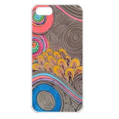Rainbow Passion Apple Iphone 5 Seamless Case (white) by SugaPlumsEmporium