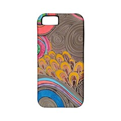 Rainbow Passion Apple Iphone 5 Classic Hardshell Case (pc+silicone) by SugaPlumsEmporium