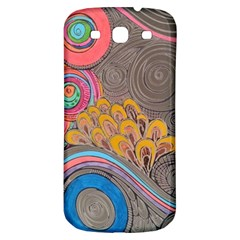 Rainbow Passion Samsung Galaxy S3 S Iii Classic Hardshell Back Case by SugaPlumsEmporium