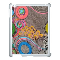 Rainbow Passion Apple Ipad 3/4 Case (white) by SugaPlumsEmporium