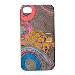 Rainbow Passion Apple Iphone 4/4s Hardshell Case With Stand by SugaPlumsEmporium