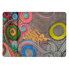 Rainbow Passion Samsung Galaxy Tab 10 1  P7500 Flip Case by SugaPlumsEmporium