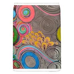 Rainbow Passion Flap Covers (l)  by SugaPlumsEmporium