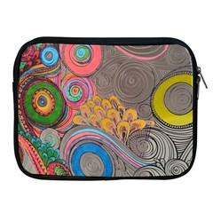 Rainbow Passion Apple Ipad 2/3/4 Zipper Cases by SugaPlumsEmporium