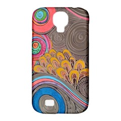 Rainbow Passion Samsung Galaxy S4 Classic Hardshell Case (pc+silicone) by SugaPlumsEmporium