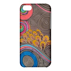 Rainbow Passion Apple Iphone 5c Hardshell Case by SugaPlumsEmporium