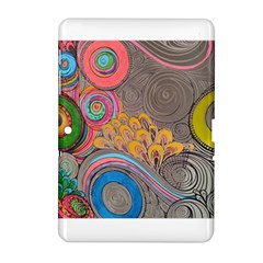 Rainbow Passion Samsung Galaxy Tab 2 (10 1 ) P5100 Hardshell Case  by SugaPlumsEmporium