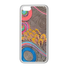 Rainbow Passion Apple Iphone 5c Seamless Case (white) by SugaPlumsEmporium