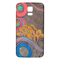 Rainbow Passion Samsung Galaxy S5 Back Case (white) by SugaPlumsEmporium