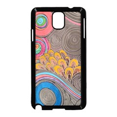 Rainbow Passion Samsung Galaxy Note 3 Neo Hardshell Case (black) by SugaPlumsEmporium