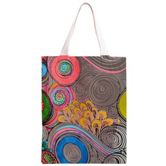 Rainbow Passion Classic Light Tote Bag by SugaPlumsEmporium