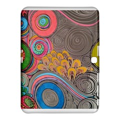 Rainbow Passion Samsung Galaxy Tab 4 (10 1 ) Hardshell Case  by SugaPlumsEmporium