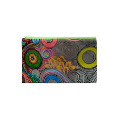 Rainbow Passion Cosmetic Bag (xs) by SugaPlumsEmporium