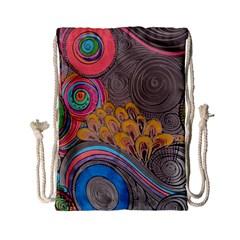 Rainbow Passion Drawstring Bag (small) by SugaPlumsEmporium