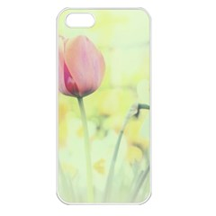 Softness Of Spring Apple Iphone 5 Seamless Case (white) by TastefulDesigns