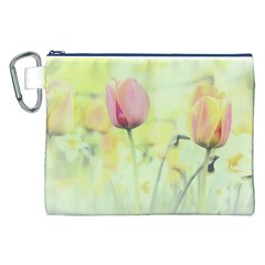Softness Of Spring Canvas Cosmetic Bag (xxl)  by TastefulDesigns