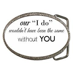 Wedding Favor/Thank You Belt Buckles by LittileThingsInLife