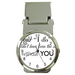 Wedding Favor/thank You Money Clip Watches by LittileThingsInLife