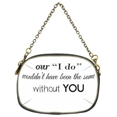 Wedding Favor/thank You Chain Purses (two Sides)  by LittileThingsInLife