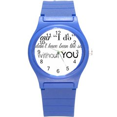 Wedding Favor/thank You Round Plastic Sport Watch (s) by LittileThingsInLife