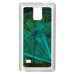 Weathered Samsung Galaxy Note 4 Case (white) by SugaPlumsEmporium