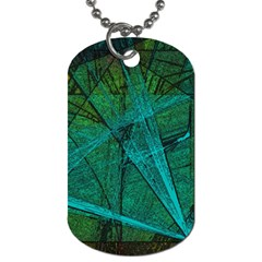 Weathered Dog Tag (one Side) by SugaPlumsEmporium