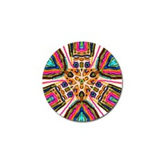 Ethnic You Collecition Golf Ball Marker (4 Pack) by SugaPlumsEmporium