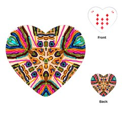 Ethnic You Collecition Playing Cards (heart)  by SugaPlumsEmporium