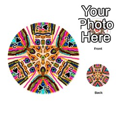 Ethnic You Collecition Playing Cards 54 (round)  by SugaPlumsEmporium