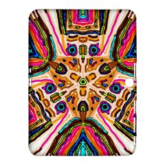 Ethnic You Collecition Samsung Galaxy Tab 4 (10.1 ) Hardshell Case  by SugaPlumsEmporium