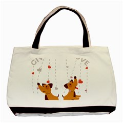 Give Them Love Basic Tote Bag