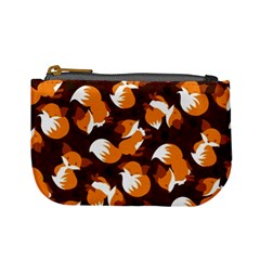 Curious Maple Fox (Dark) Coin Change Purse by Ellador