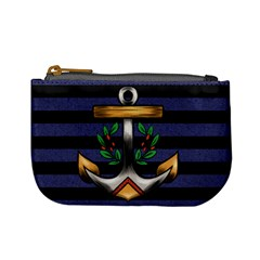 Anchor & Stripes Coin Change Purse by Ellador