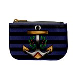 Anchor & Stripes Coin Change Purse Front