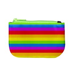 More Rainbow Stripes Coin Change Purse