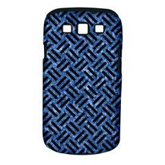Woven2 Black Marble & Blue Marble (r) Samsung Galaxy S Iii Classic Hardshell Case (pc+silicone) by trendistuff