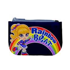 Rainbow Brat Coin Change Purse by Ellador