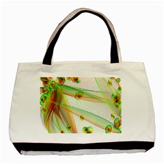 The Wedding Veil Series Basic Tote Bag (two Sides) by SugaPlumsEmporium
